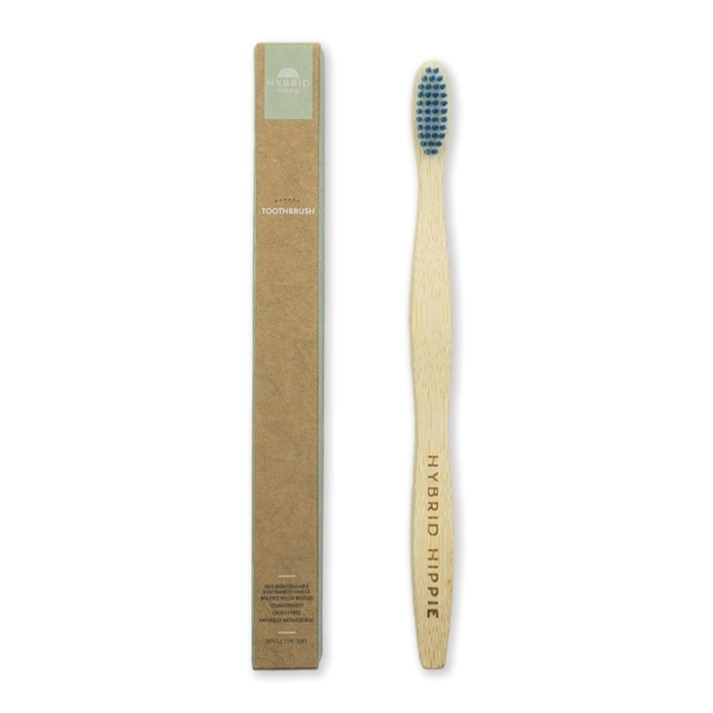 Bamboo Toothbrush - Single Pack - Blue
