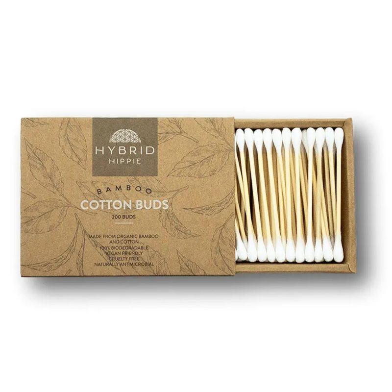 Bamboo Cotton Ear Swabs
