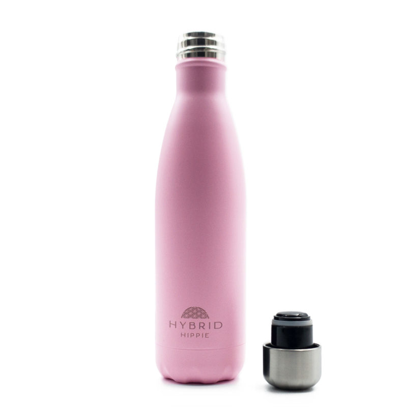 Pink - Stainless Steel Water Bottle