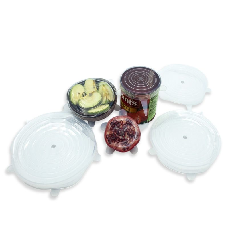 Silicone Lids - 6 Pack