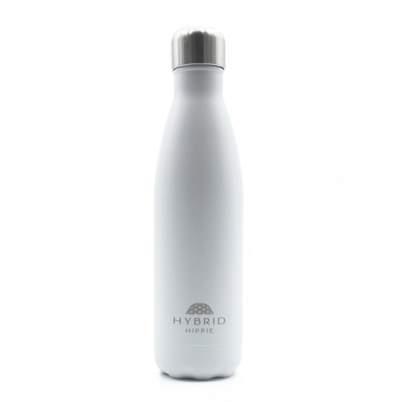 White - Stainless Steel Water Bottle